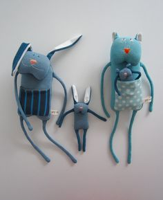 Handmade Soft Toys, Handmade Gifts, Jean Crafts, Primitive Folk Art, Cute Toys, Sewing Toys, Doll Crafts, Plush Dolls, Softies