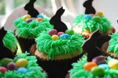 Confetti Easter Nest Cupcakes by DixieBelleCupcakeCafe, via Flickr
