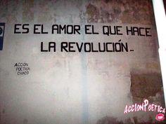 Es el amor que hace la revolución
