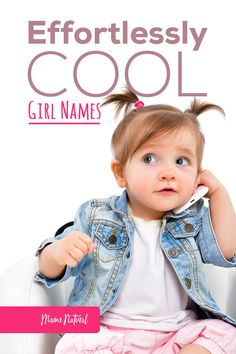 Flashy, fashionable, and fit for your little princess, cool girl names are all the rage! From catwalk finds to word name wonders, we have them all her Bany Girl Names, Strong Baby Names, Modern Baby Names, Baby Girl Names Unique, Names Girl, Popular Baby Names, Cute Baby Names, Awesome Girl Names, Unique C Names