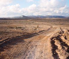 Gravel road in Baja California, Mexico