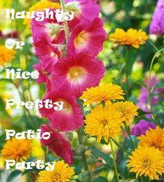 ♡ Naughty or Nice Pretty Patio Party #KINKYPrettyPatio