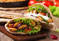 Spicy Chicken Pitta Pockets - HEART UK