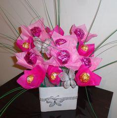 Ramo De Bombones, Chocolates, Rosas. San Valentin, Regalos - $ 400,00