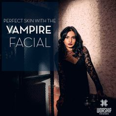 Have you tried our #VampireFacial yet? Get your skin feeling and looking better and fresher in a matter of hours. Call 011-41329333 for appointments.
