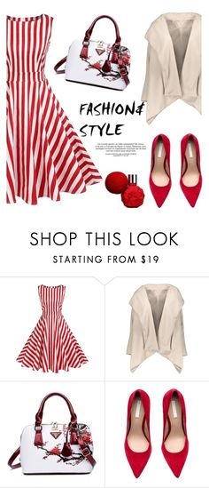 """""""Fashion & Style"""" by helenevlacho ❤ liked on Polyvore"""