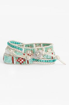 Nakamol Design Beaded Wrap Bracelet | Nordstrom