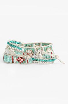 Bead wrap bracelet