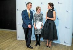 Crown Prince Frederik and Crown Princess Mary of Denmark attended the Crown Prince Cuple Award 2015 (Kronprinsparrets Priser) | 3rd October 2015