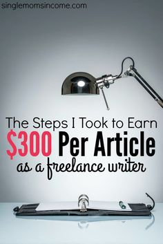 In one year I've went from $2 an article to $300 an article as a freelance writer. Here are the steps I took to make the change!