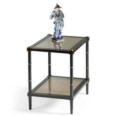 Chelsea House, End Table, glass shelves – Benjamin Rugs & Furniture Custom Furniture, Home Furniture, Black End Tables, Luxury Home Decor, Cocktail Tables, Glass Shelves, Black Glass, Black House, Furniture Making