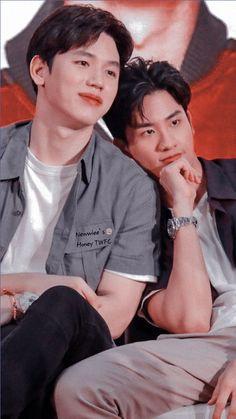 Kdrama, Vampire Sphere, 2moons The Series, Thai Tea, Theory Of Love, Hot Asian Men, Thai Drama, Cute Gay, Best Couple