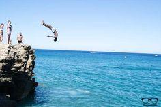 Cliff Jumping Costa Brava