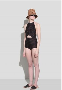 20 Sophisticated Swimsuits. This one is by Rachel Comey.