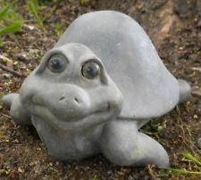 New latex w/ plastic bckup turtle plaster concrete mold