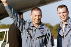 Neil Armstrong and Dave Scott, Gemini 8