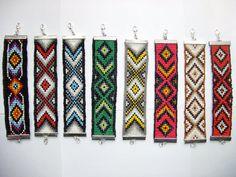 Bracelet style indien navajo perle de rocaille ethnique