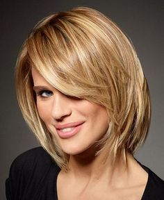Medium Haircuts For Very Thick Hair Short To Medium Hairstyles For ...