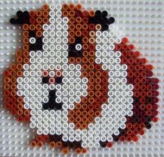 Guinea pig hama (perler) bead design.