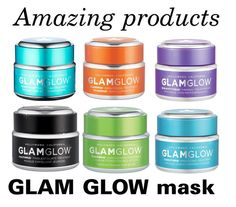 """Glam Glow face mask !"" by azzra on Polyvore featuring beauty, GlamGlow, facemask, glamglow, facemasks and simpleserenity"