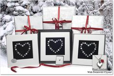 """Beautiful Valentine's Day Gift """"Snowflake"""" Bentley Snowflake Heart montage paired with pewter mini heart pendant with Swarowski crystal Gift Wrapped. 10%Off Code. VTWD www.vermontsnowflakes.com Snowflake Photography, Nature Photography, Snowflake Bentley, Happy February, Skiers, Crystal Gifts, Mini Heart, Romantic Gifts, Heart Print"""