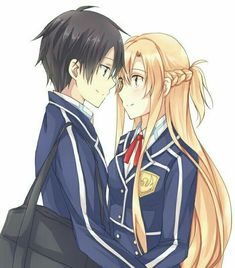 Anime Love Couple, Cute Anime Couples, Manga Tutorial, Kunst Online, Online Art, Life Online, K Project Manga, Sao Kirito And Asuna, Sao Ggo
