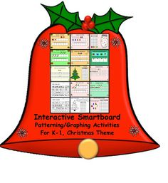 Interactive Smartboard Patterning/Graphing Activities for Christmas Theme Christmas Math, Christmas Themes, Xmas, Kindergarten Math, Elementary Math, Graphing Activities, Powerpoint Lesson, Interactive Whiteboard, Merry Christmas Everyone