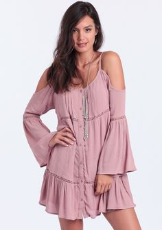 $54.00  Jess Off-Shoulder Dress at #threadsence @threadsence