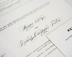 Classic Vintage Wedding Invitations - Wedding Invitations by Shine