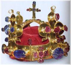 St Wenceslas Crown, Bohemia, 1347
