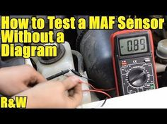 How to Test a Mass Air Flow MAF Sensor - Without a Wiring Diagram - YouTube