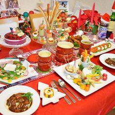 ✩ 2014 Xmasディナー ✩ . #2014 #Xmas #クリスマス #ディナー #お料理 #クリスマスディナー #おうちごはん #記念日ごはん #ビーフシチュー #マッシュポテト #バーニャカウダ #オードブル #アミューズ #チーズフォンデュ #アヒージョ #テーブルコーディネート #パーティー料理 #cooking #homemade #party