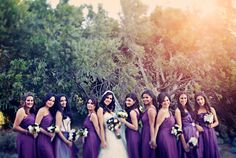 Great Bridal Party Pose