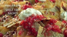 Check out what I found on the Paula Deen Network! Sheet Tray Nachos http://www.pauladeen.com/sheet-tray-nachos