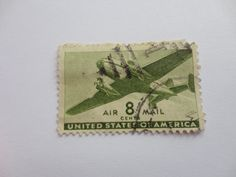 8 Air Mail Classic United State Postage Stamp