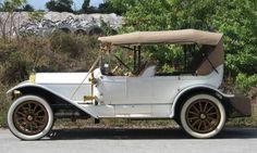 1912 Pierce-Arrow Model 66-QQ 5-Passenger Touring Car