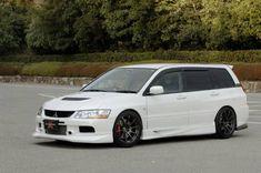 Mitsubishi Lancer Evolution IX Wagon CT9W | Car stuff | Pinterest ...