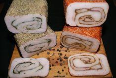 Domowy wyrób.Coś do chleba i talerza.: Słonina rolowana