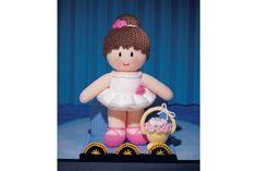 Wool Warehouse - Jean Greenhowe - Mascot Dolls (booklet) - Patterns & Books - Buy Yarn, Wool, Needles & Other Knitting Supplies Online! Yarn Dolls, Knitted Dolls, Crochet Food, Knit Crochet, Jean Greenhowe, Knitting Supplies, Knitting Ideas, Operation Christmas Child, Pattern Books