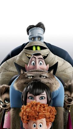 Directed by Genndy Tartakovsky. With Adam Sandler, Andy Samberg, Selena Gomez, Kevin James. Dracula and his friends try to bring out the monster in his half human, half vampire grandson in order to keep Mavis from leaving the hotel. Hotel Transylvania 2, Hotel Transylvania Characters, Wallpaper Animes, Disney Phone Wallpaper, 2015 Wallpaper, Movie Wallpapers, Cute Cartoon Wallpapers, Film Anime, Pinturas Disney