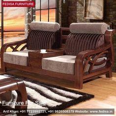 Wooden Sofa Set: buy new sofa set online, Buy Sofa Set Online Wood Sofa, Couch Furniture, Cheap Furniture, Furniture Stores, Living Room Sofa Design, Living Room Designs, Couch Dining Table, Latest Sofa Designs, Wooden Sofa Set Designs