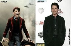 Christian Bale young old