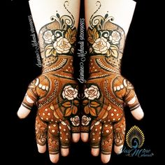 Best mehndi designs...rushi
