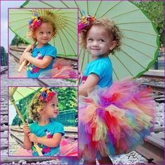 Tutus Lillix Denise  Rainbow Tutu  Great for by princesstutus2010, $20.00