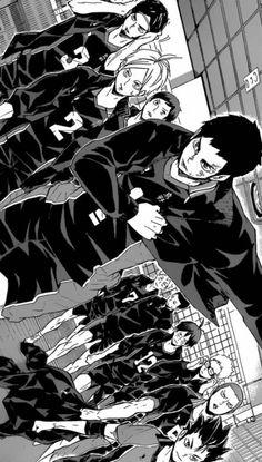 Everything about Haikyuu!] by Furudate Haruichi Manga Haikyuu, Haikyuu Karasuno, Nishinoya, Kagehina, Anime Manga, Mega Anime, Haruichi Furudate, Haikyuu Wallpaper, Manga Pages