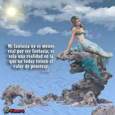 Imagenes con Mensaje - Fantasia Sirena