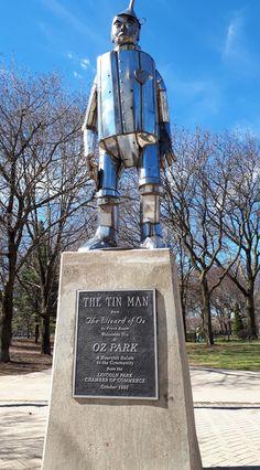 Chicago Art, Tin Man, Wizard Of Oz