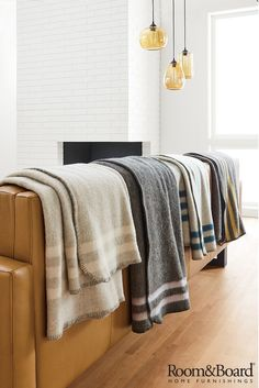 Add layers of warmth and comfort to your home with our blankets and throws.  ~ Great pin! For Oahu architectural design visit http://ownerbuiltdesign.com