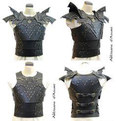 Dark armor by *ArtisansdAzure on deviantART