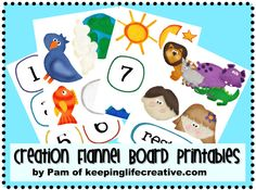 creation flannel board....babysitting kit